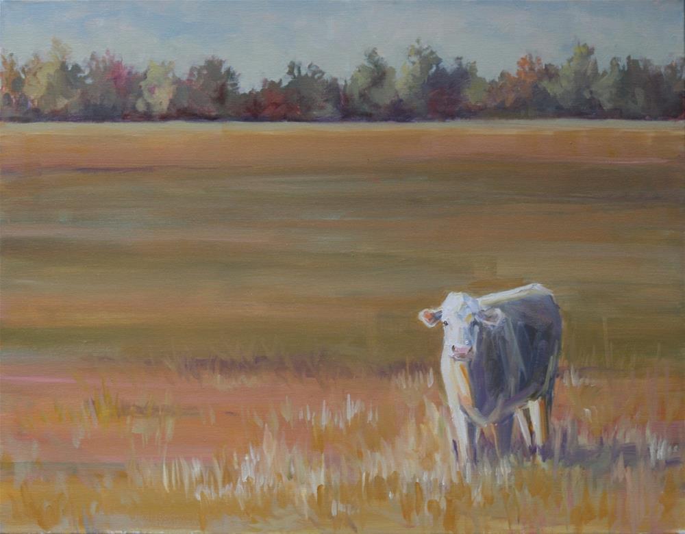 """fly over state"" original fine art by Carol Carmichael"