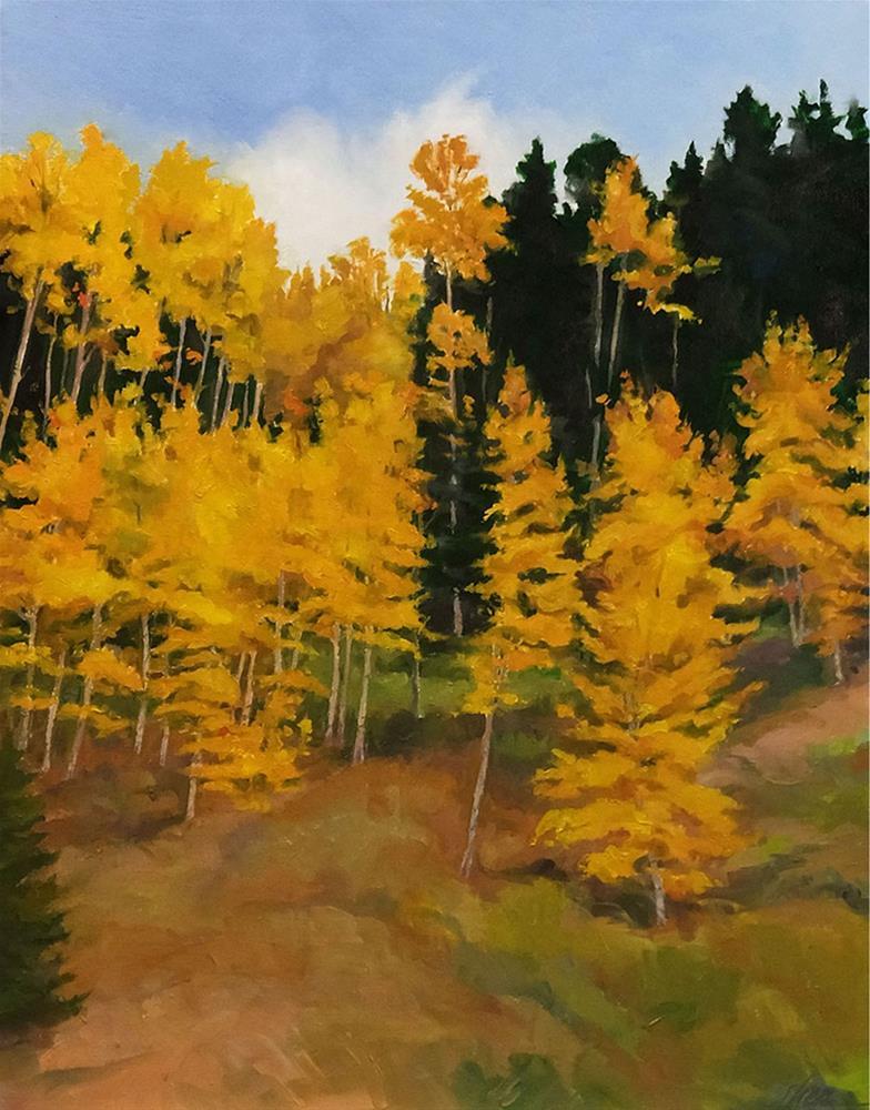 """Must've Been Late September"" original fine art by Shawn Shea"