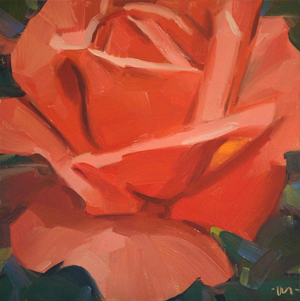 """Fill You Up Rose"" original fine art by Carol Marine"