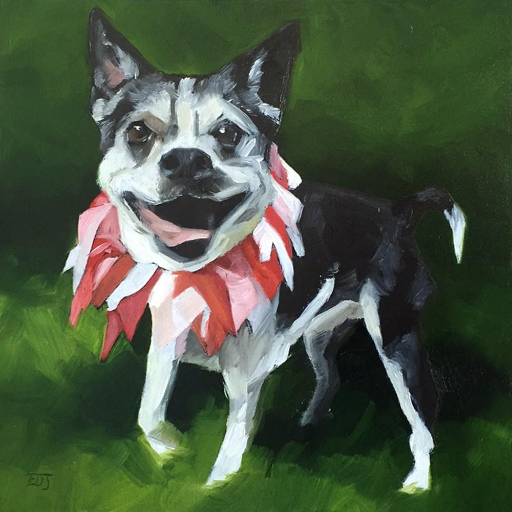"""""""Zuni 2"""" original fine art by Elizabeth Dawn Johnston"""