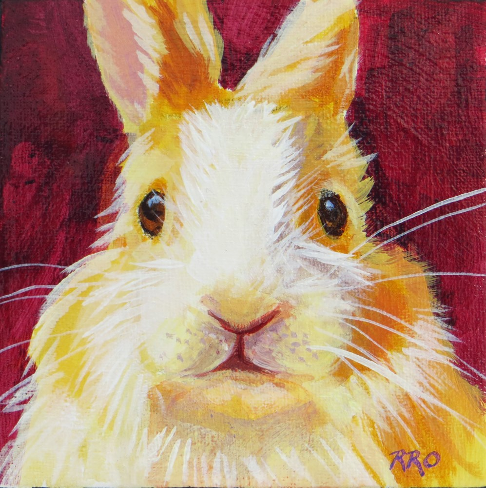"""What's Up Doc?"" original fine art by Rhett Regina Owings"