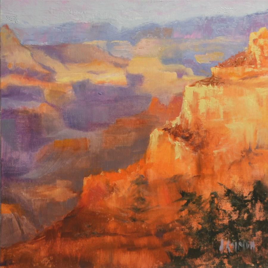 """One Grand Wonder"" original fine art by A.K. Simon"