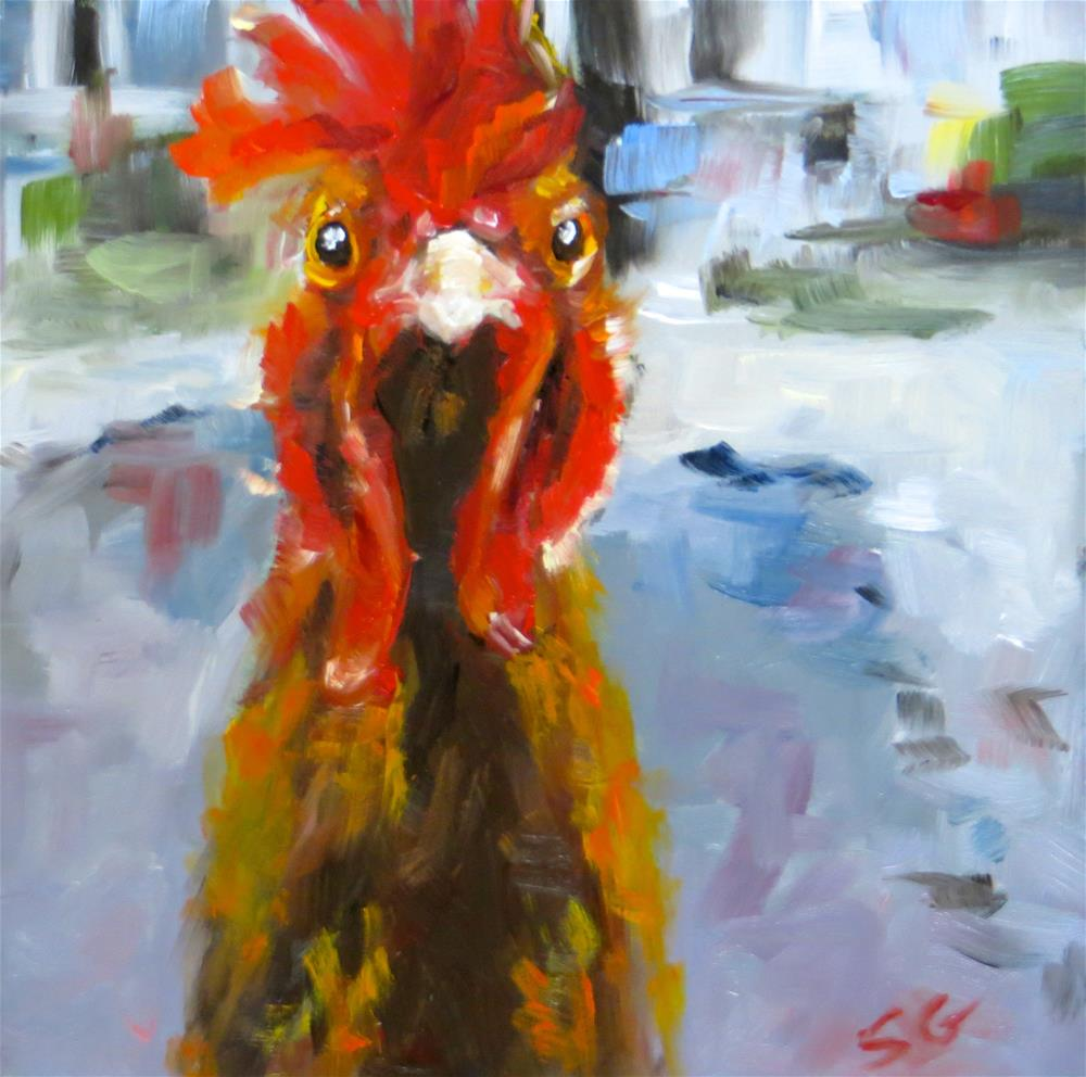 """Run for It!!!"" original fine art by Susan Galick"