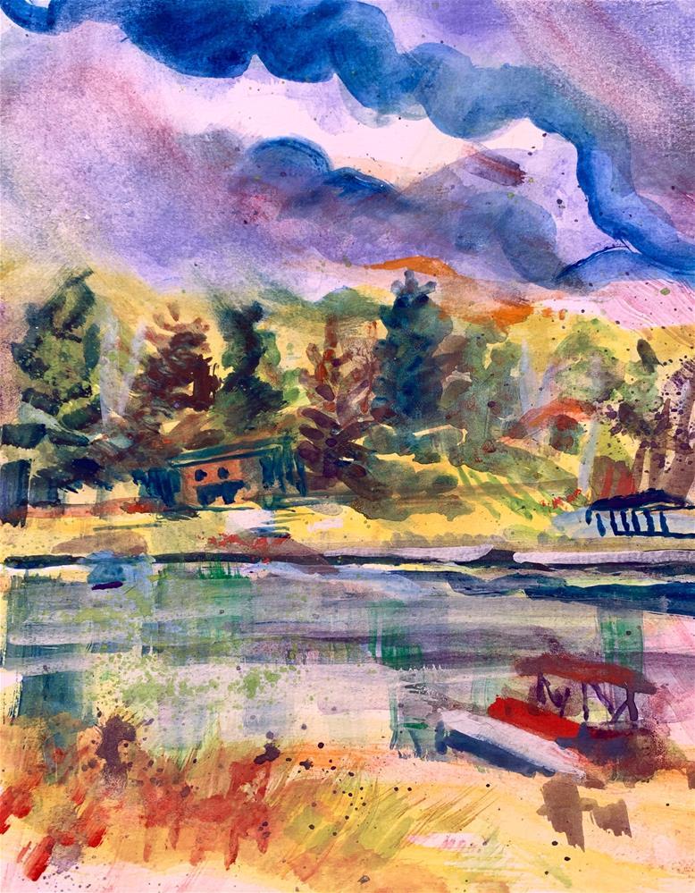 """Lake Morris, WI"" original fine art by Jean Krueger"