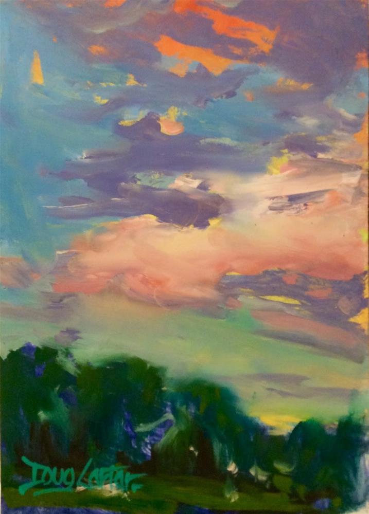 """ MORNING "" original fine art by Doug Carter"