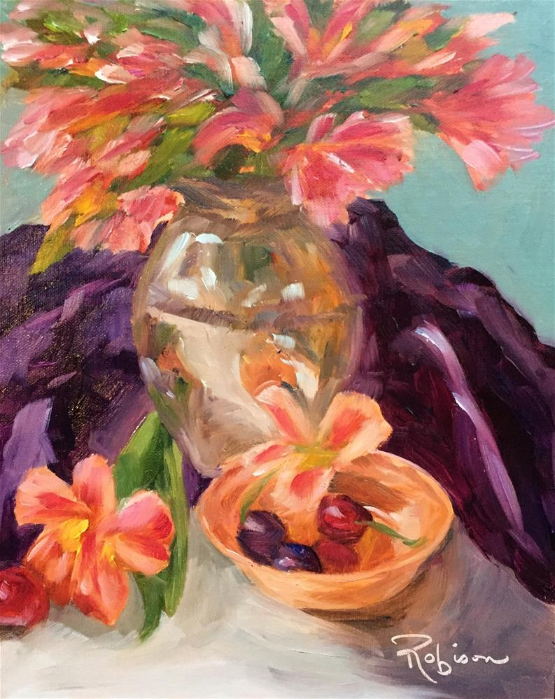 """""""Reflections:#5 of 30"""" original fine art by Renee Robison"""