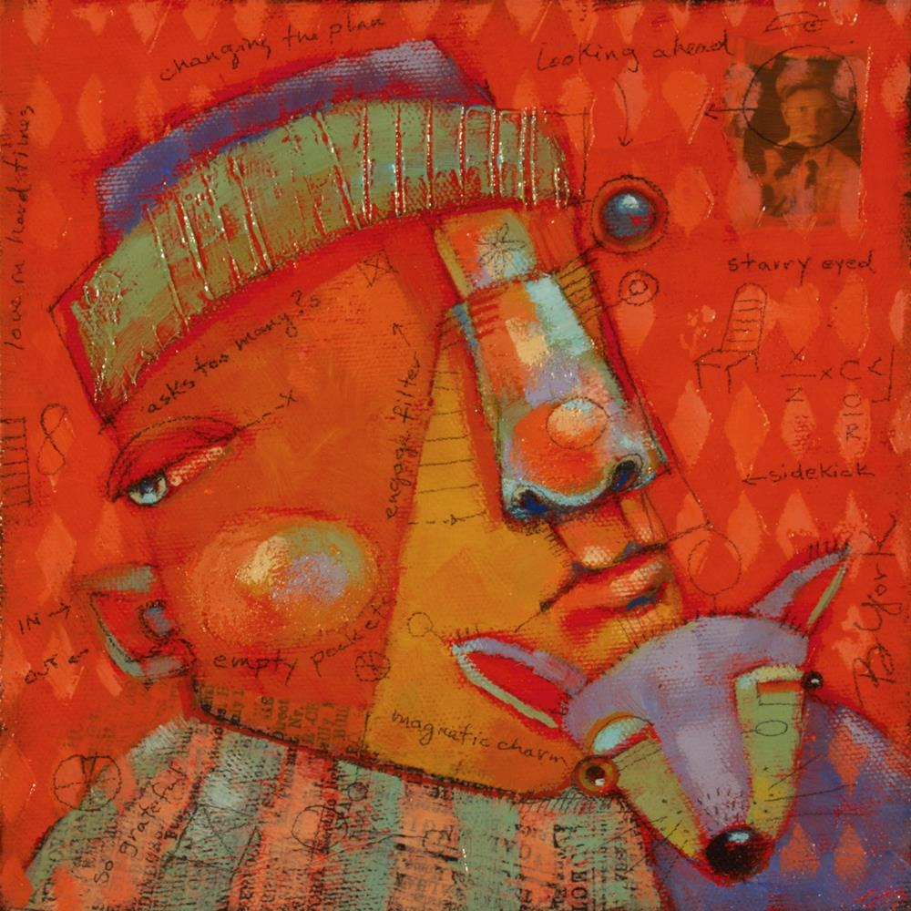 """Soft On The Inside"" original fine art by Brenda York"
