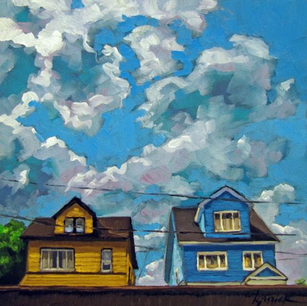 """Old Jersey"" original fine art by Karin Jurick"