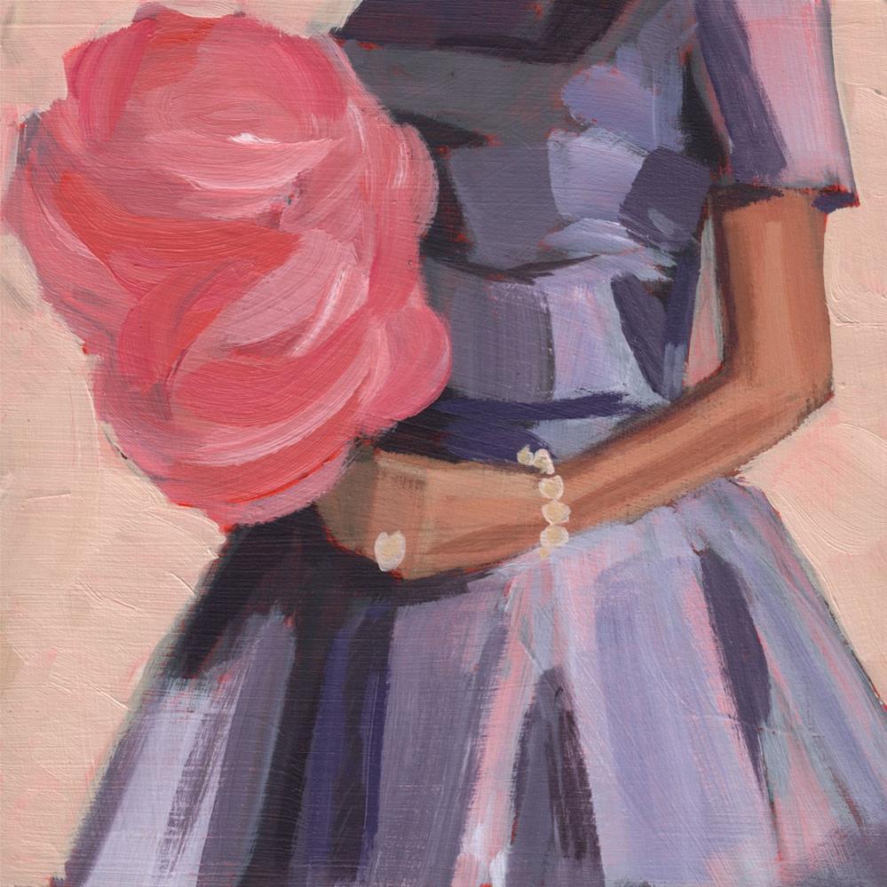 """""""Back on the Boardwalk (#399)"""" original fine art by Debbie Miller"""