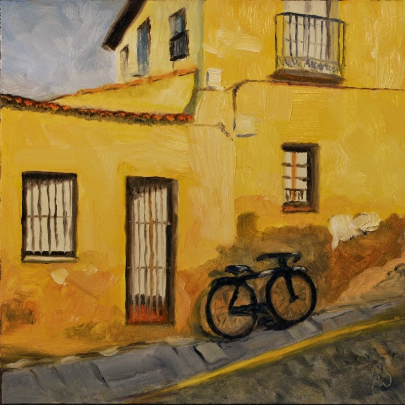 """Old Spanish House"" original fine art by Gary Westlake"