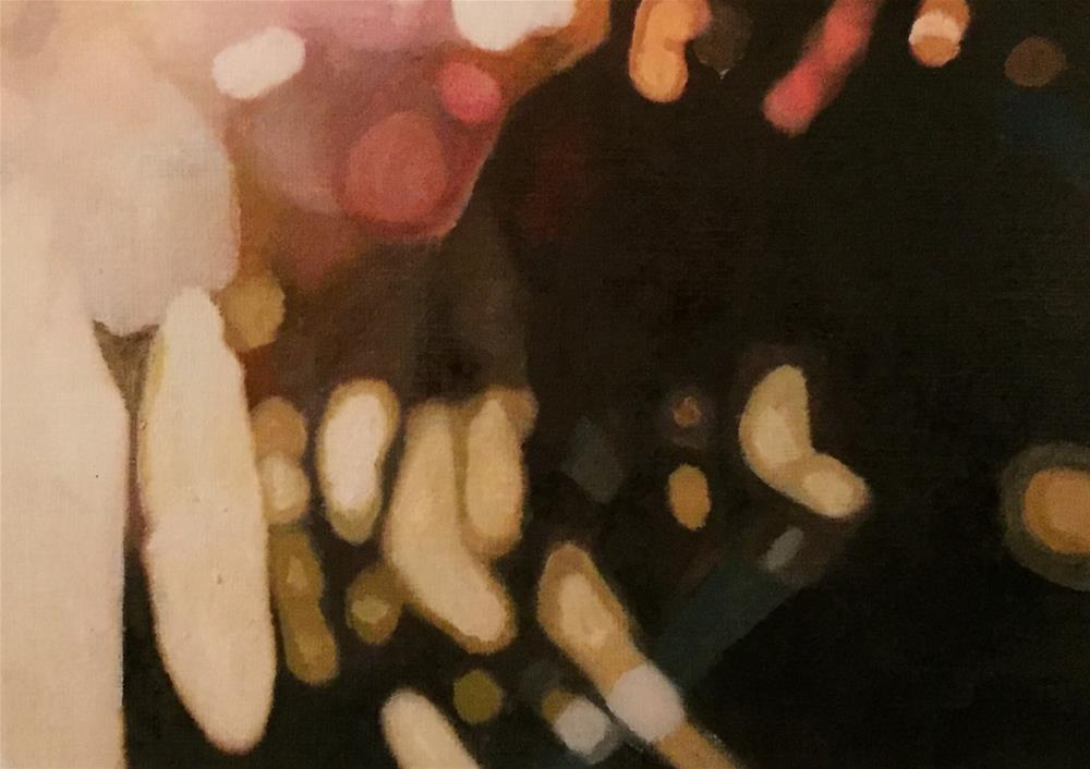 """On The Street"" original fine art by John Cameron"