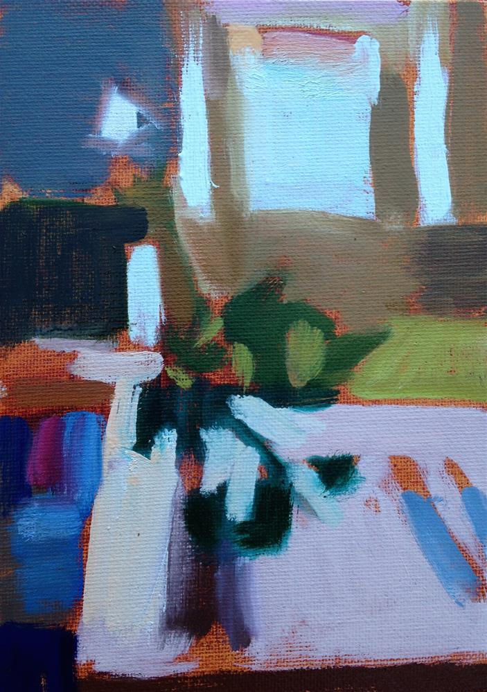 """Diebenkorn's Dead So Work With Me"" original fine art by Pamela Hoffmeister"