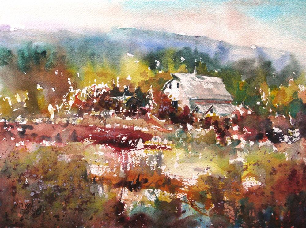 """Country Dreams"" original fine art by Melissa Gannon"