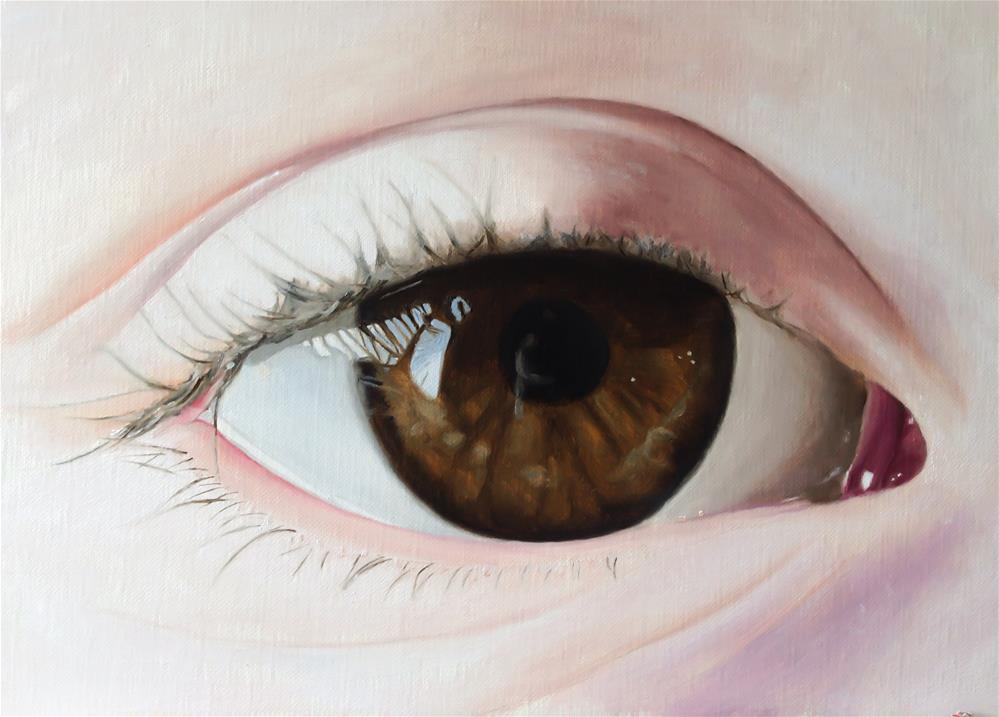 """Eye"" original fine art by James Coates"