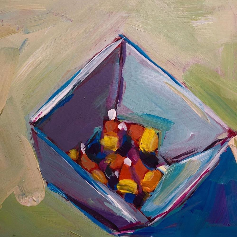 """1275: Candy Corn"" original fine art by Brian Miller"