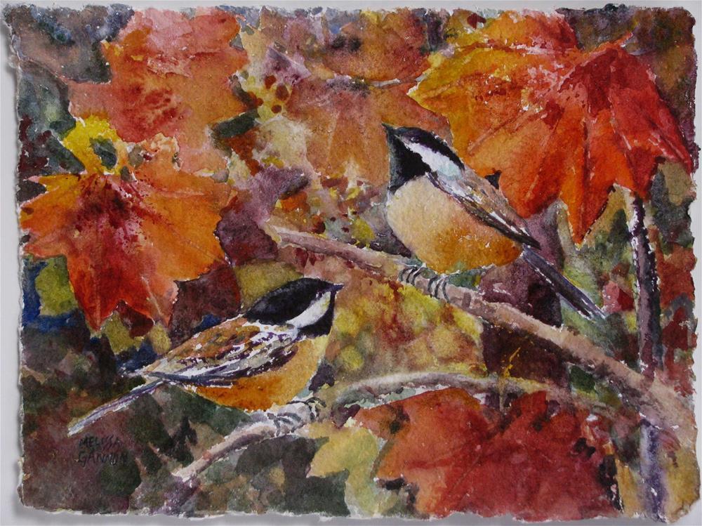 """Tree Branch Moment"" original fine art by Melissa Gannon"