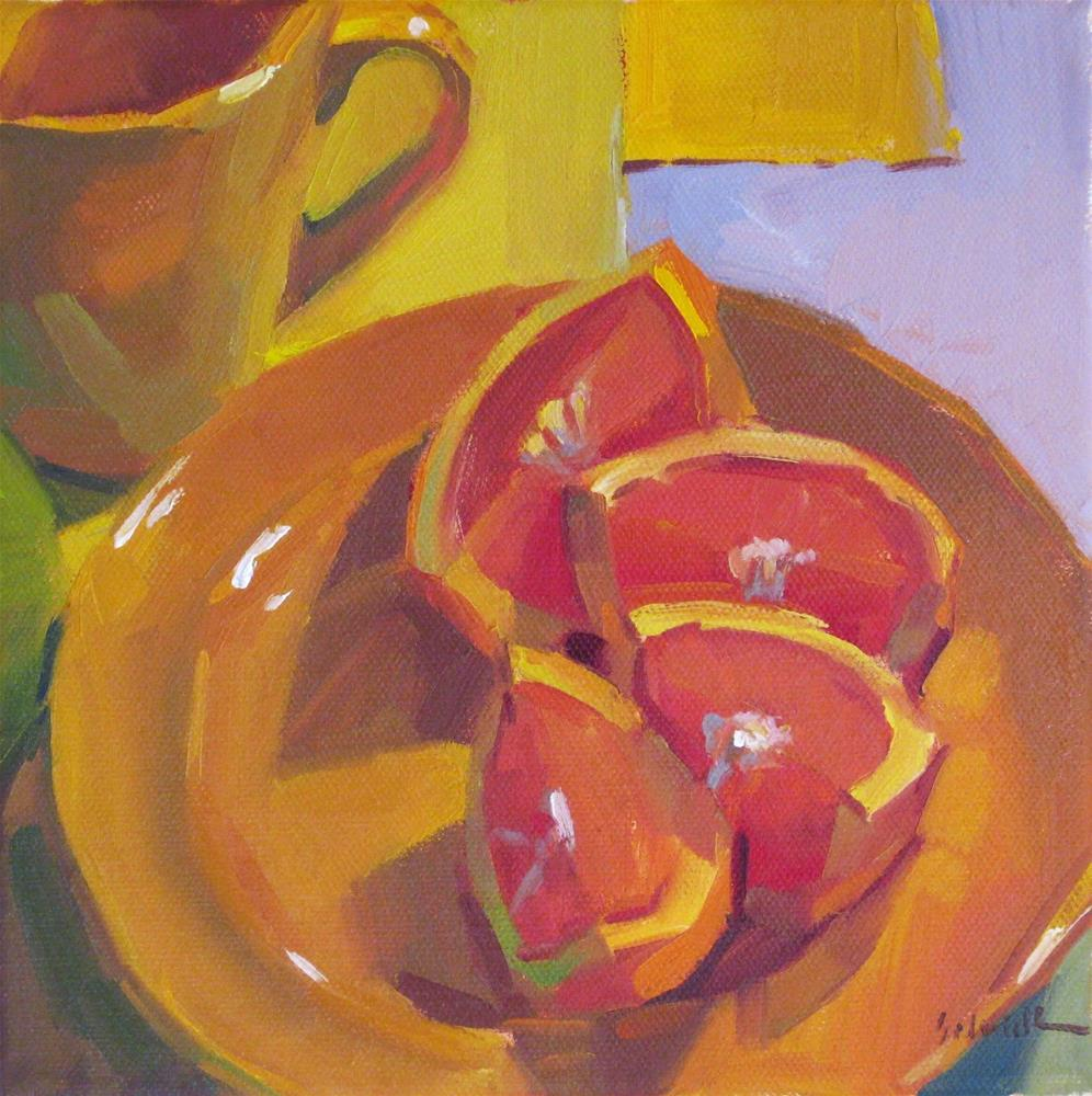 """Citrus Morning"" original fine art by Sarah Sedwick"