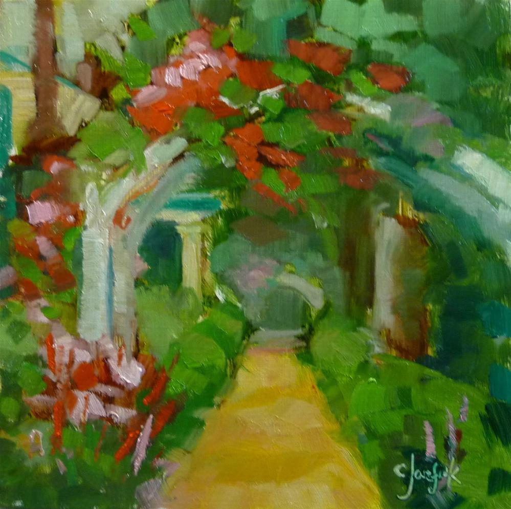 """Arbor"" original fine art by Carol Josefiak"