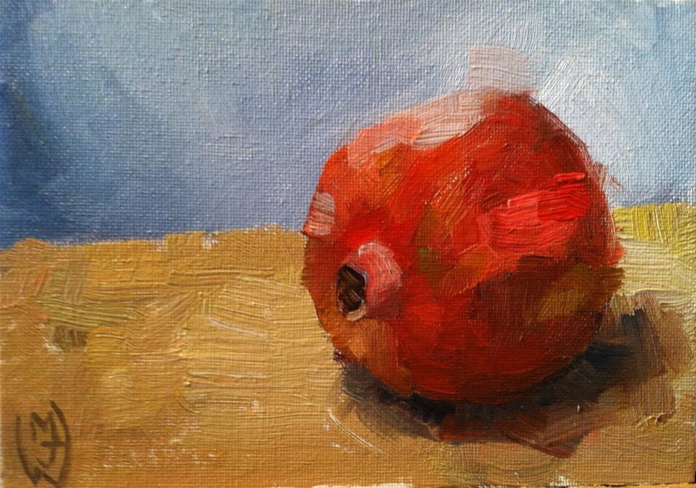 """""""Pomegranate"""" original fine art by Michael Williamson"""