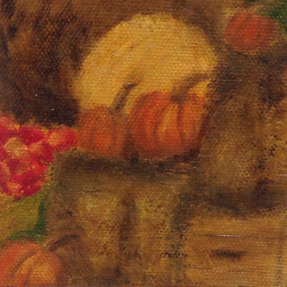 """The Harvest"" original fine art by Joy McMicken"