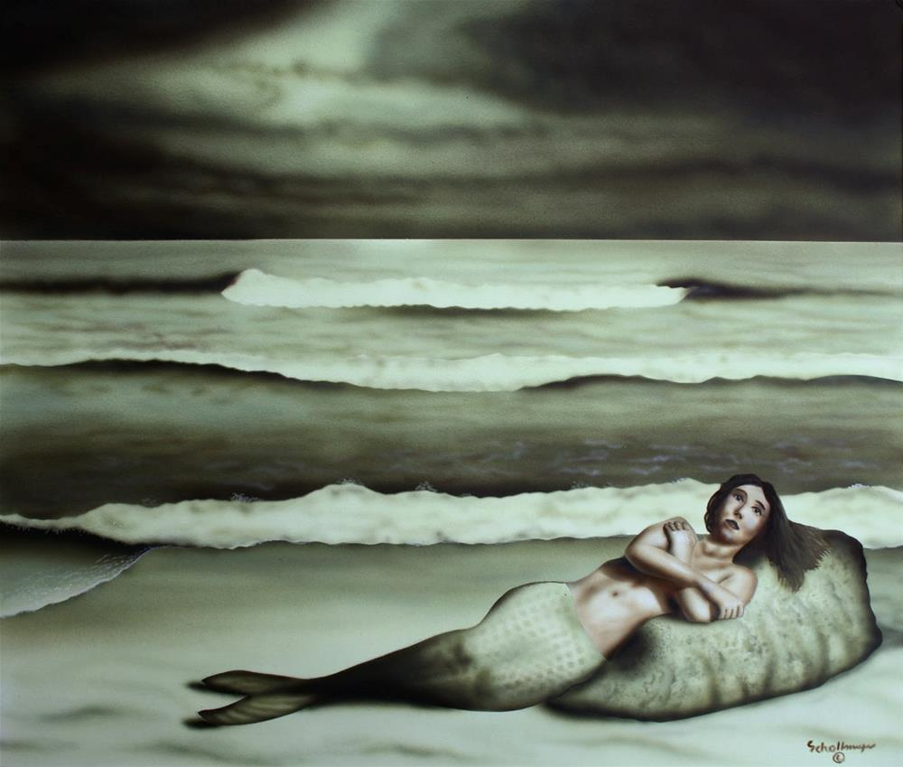 """""""From the Sea"""" original fine art by Fred Schollmeyer"""