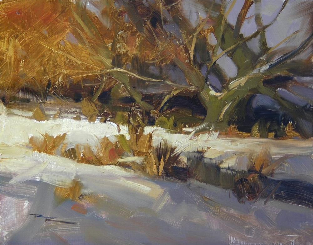 """Evening Glow"" original fine art by Richard Robinson"