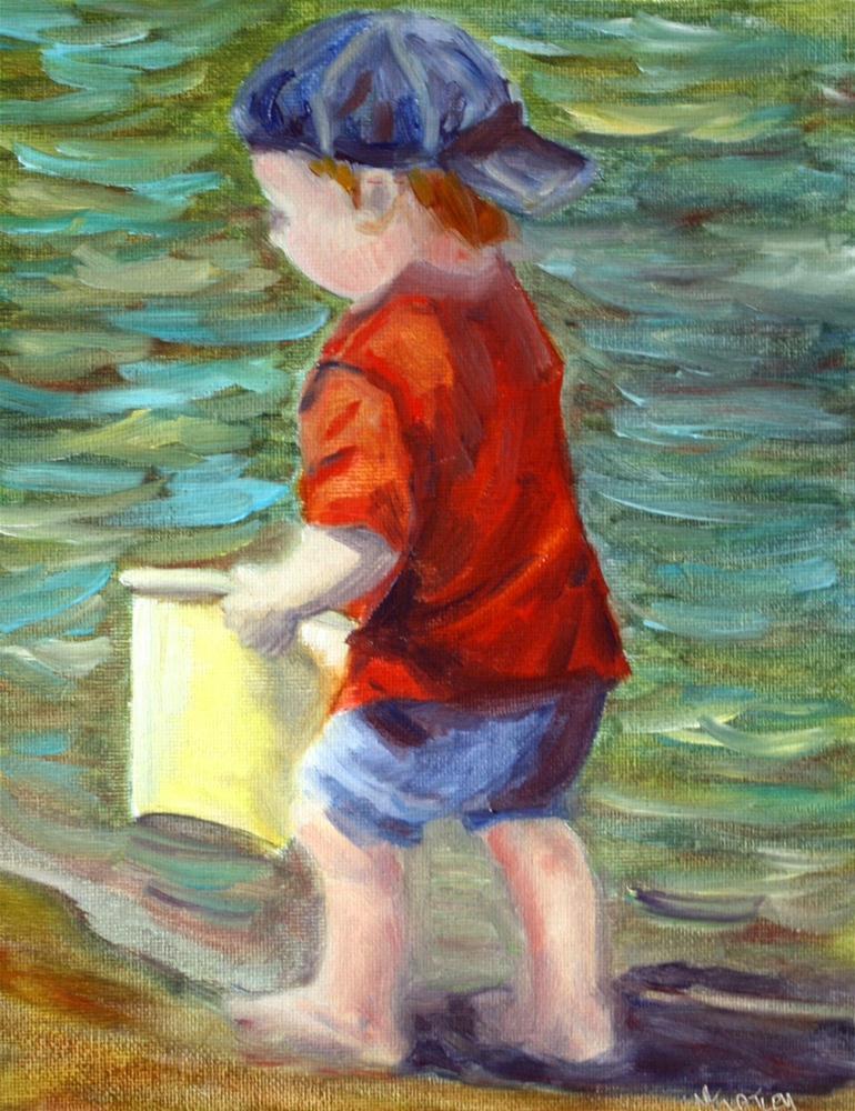 """Primary Colors"" original fine art by Maggie Flatley"