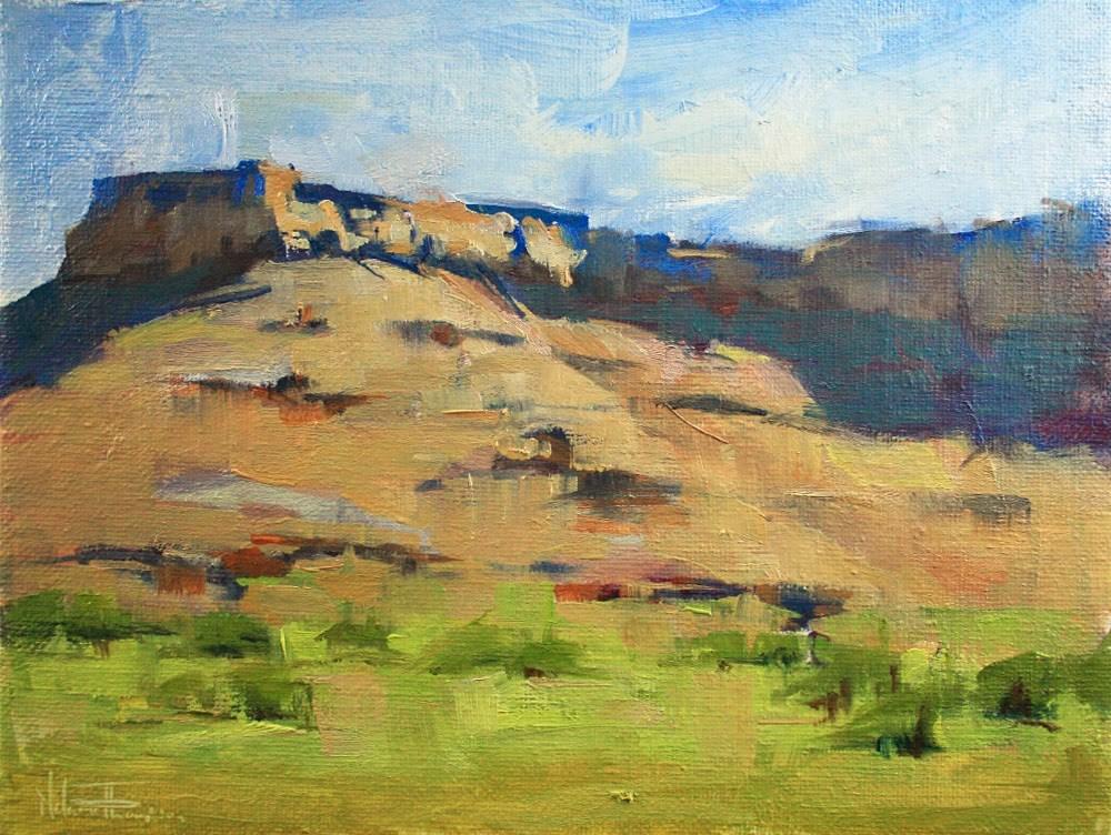 """Hart Point Shadows"" original fine art by Melanie Thompson"