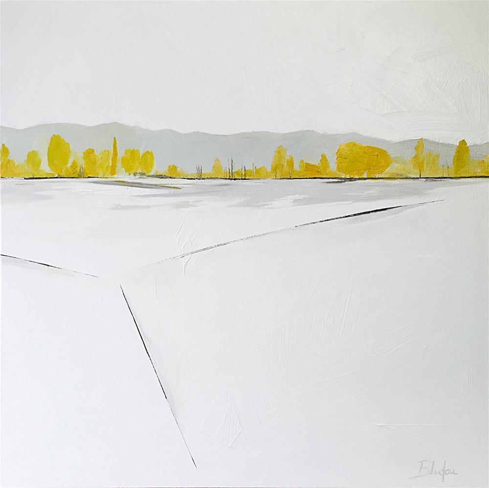 """The Journey"" original fine art by Janet Bludau"