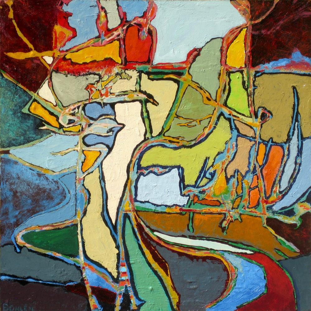 """""""Haverford"""" original fine art by Priscilla Bohlen"""