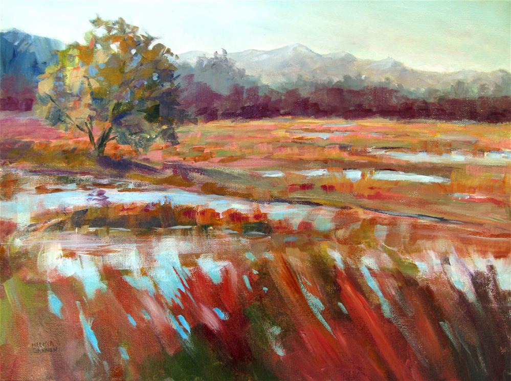 """Magic in the Marsh"" original fine art by Melissa Gannon"