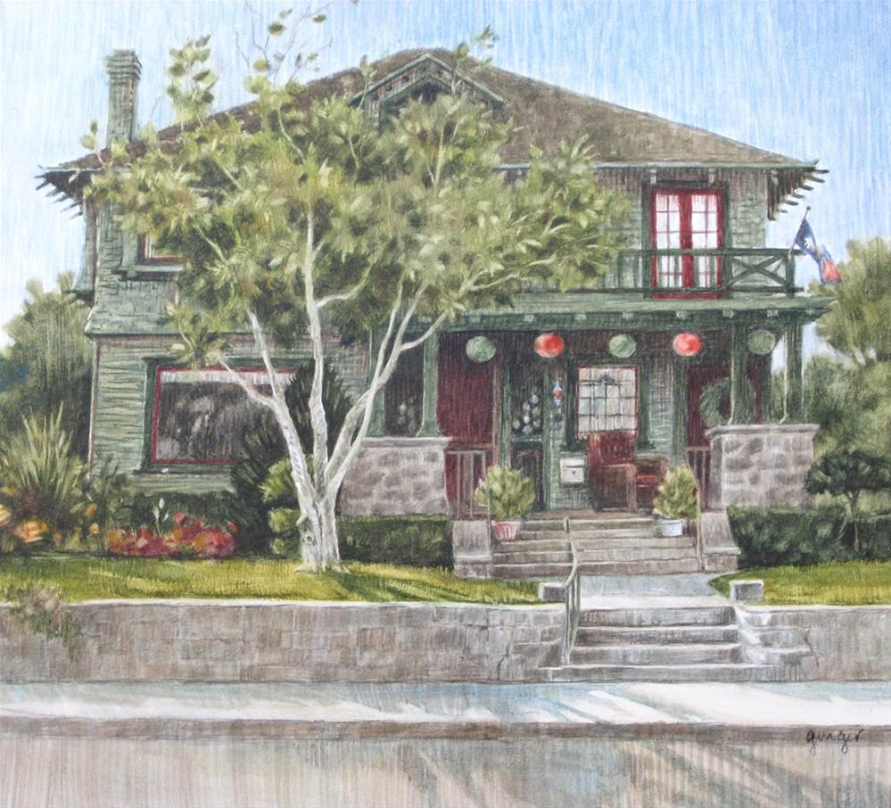 """View of a House"" original fine art by Ginger Pena"