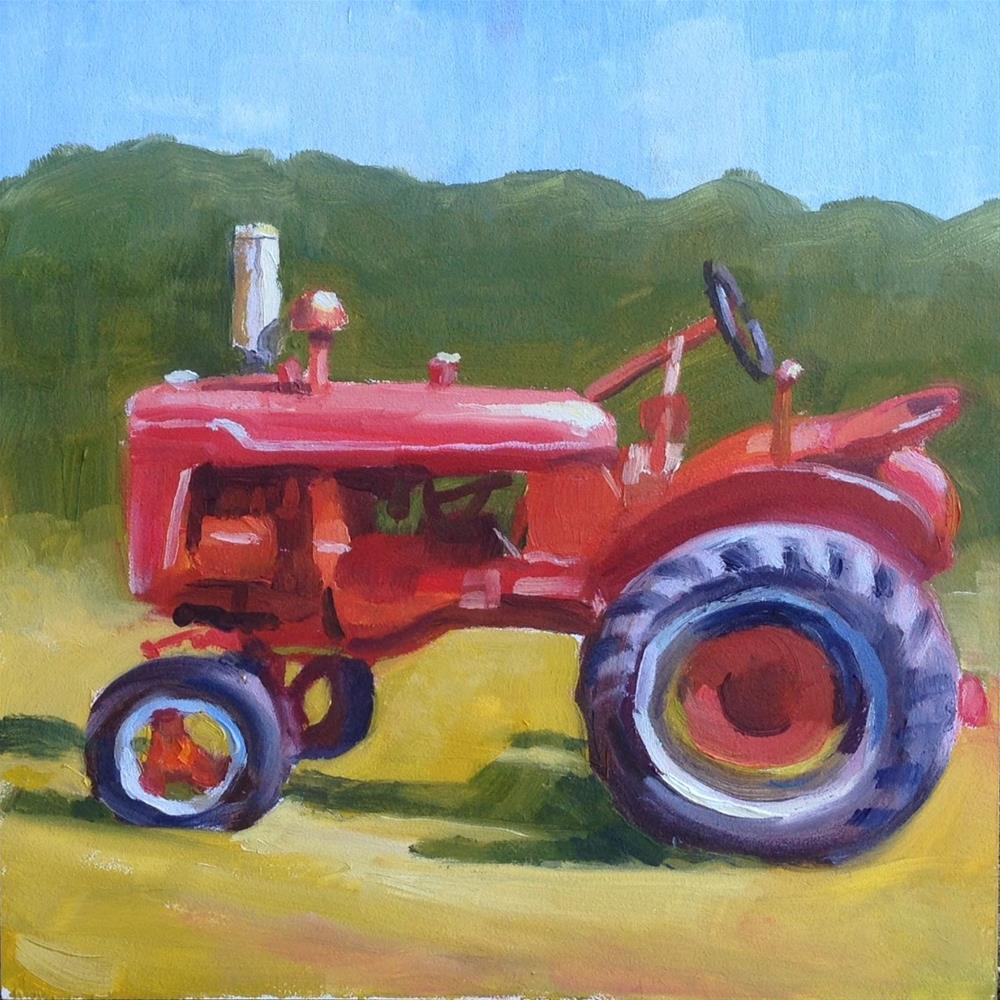 """Outstanding in His Field"" original fine art by Eric Larson"