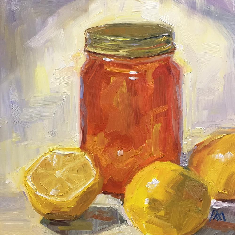 """""""More Lemons & More Honey"""" original fine art by Austin Maloney"""