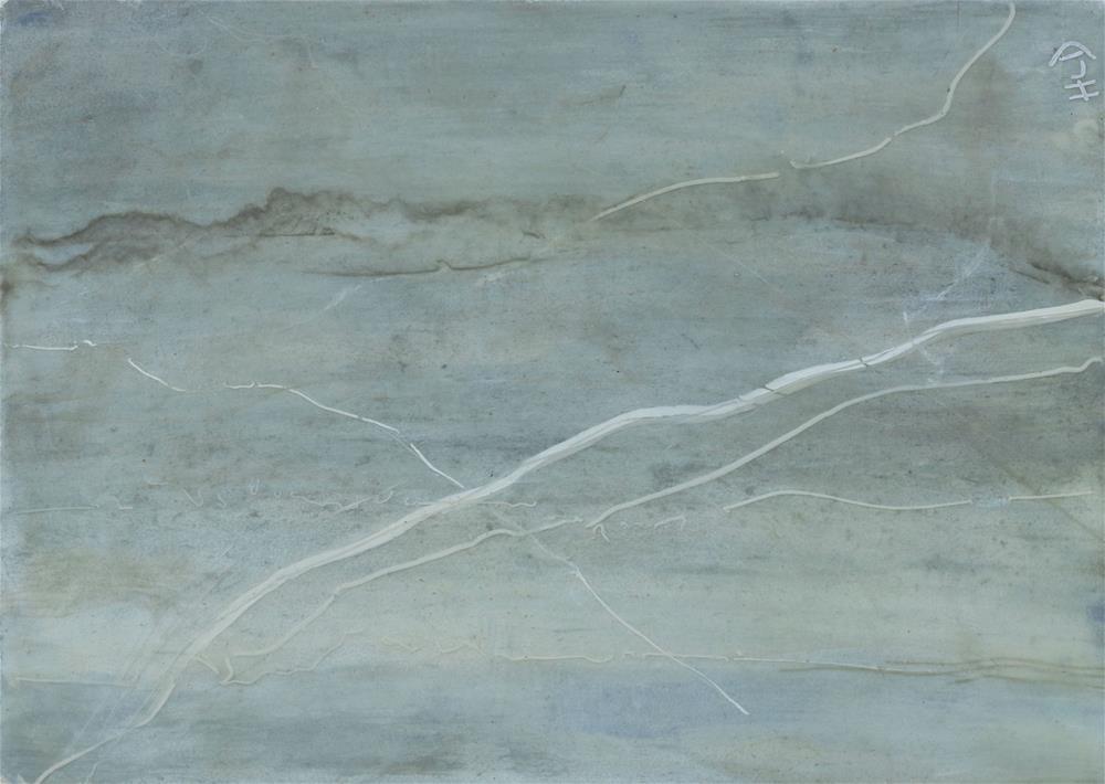 """Maine Stone #5"" original fine art by Heather Douglas"