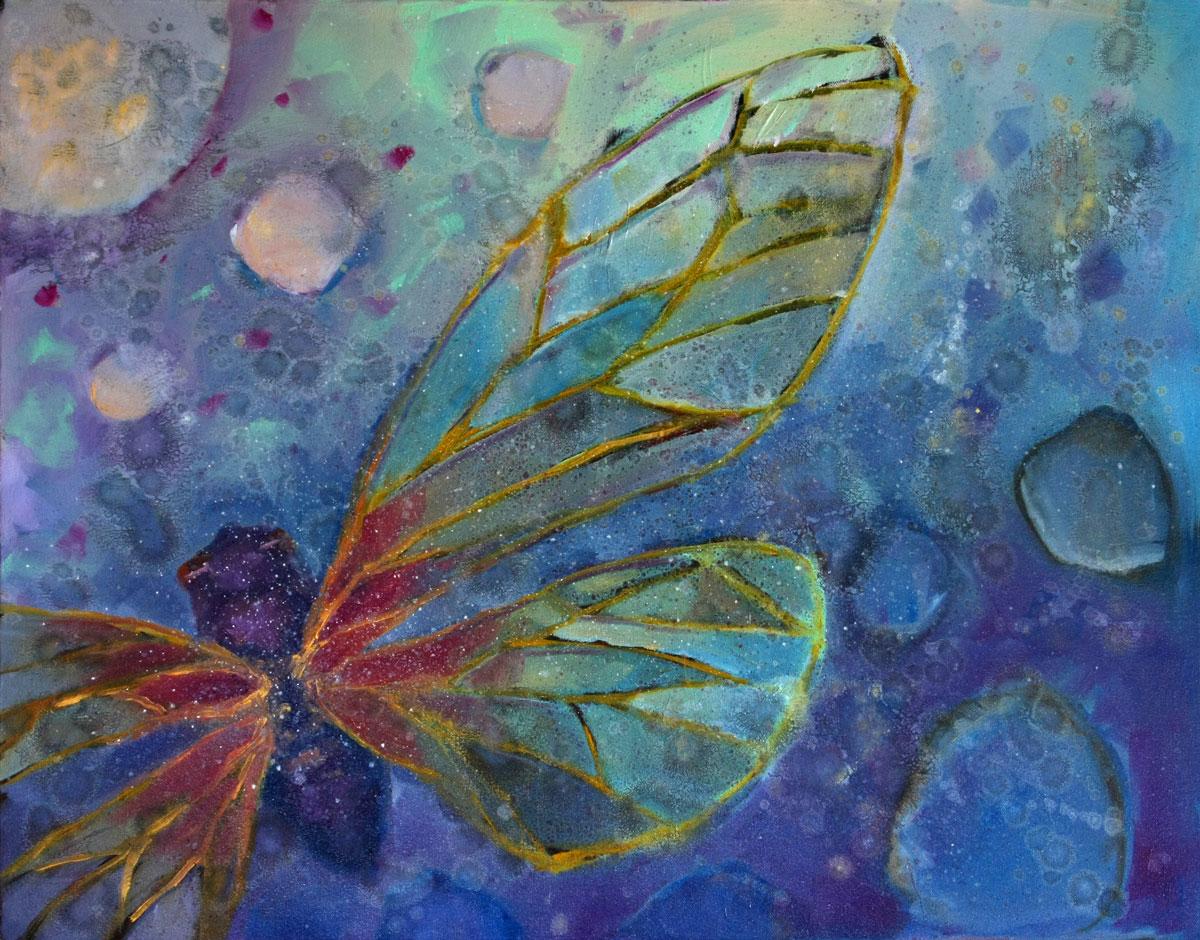 """Transition"" original fine art by Clair Hartmann"