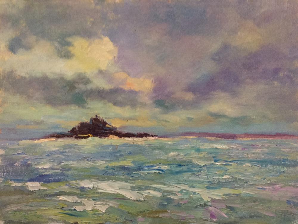 """St Micheals Mount"" original fine art by John Shave"
