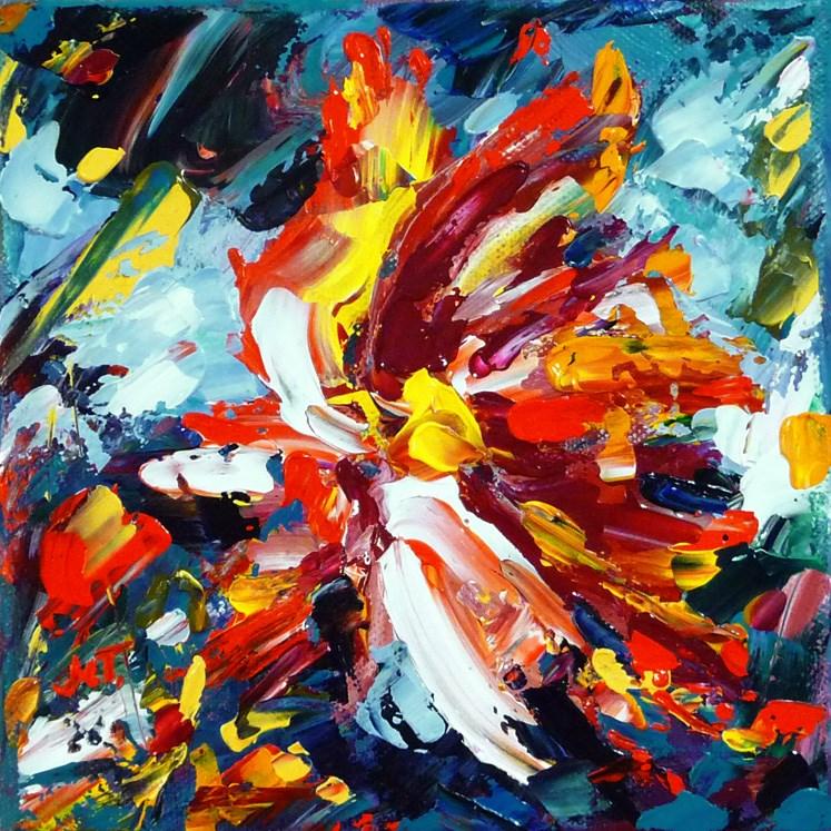 """""""Spring wind"""" original fine art by Mikko Tyllinen"""