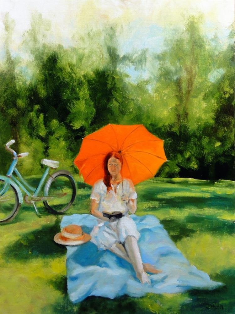 """A Perfect Day"" original fine art by Dalan Wells"