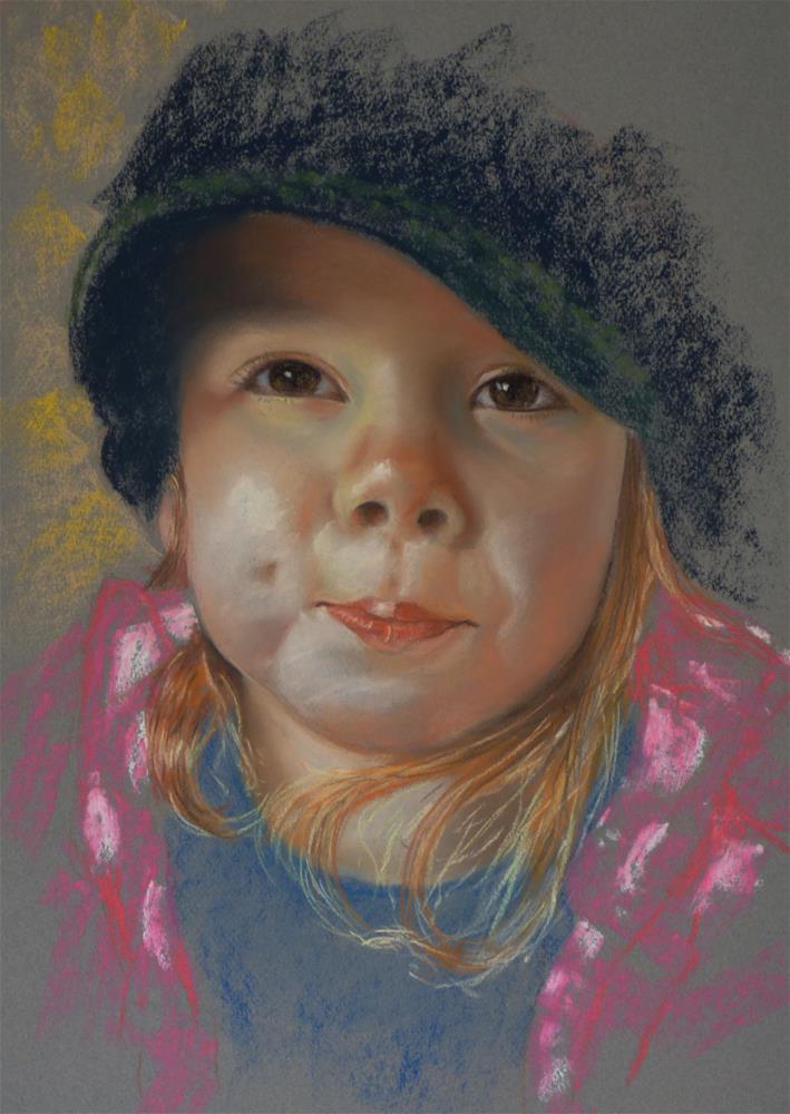 """Katie"" original fine art by James Humphreys"
