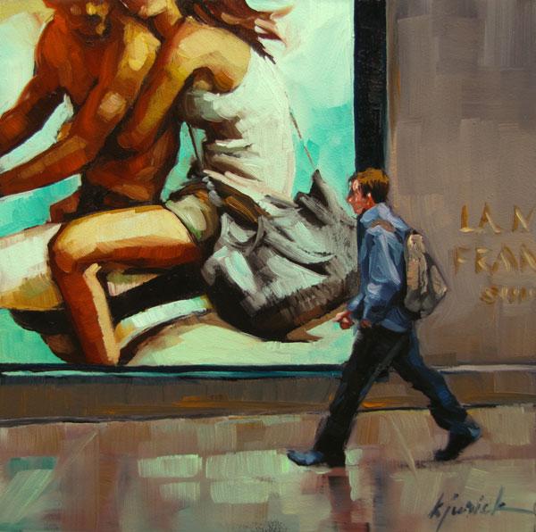 """Life In The Fast Lane"" original fine art by Karin Jurick"