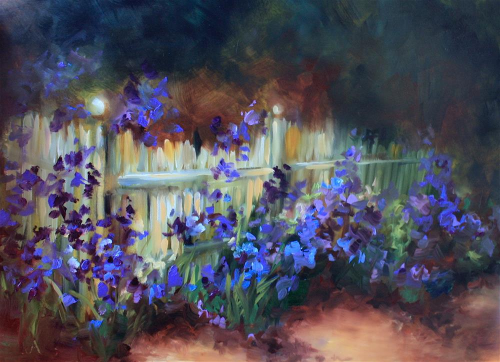 """""""Breaking Records With Brilliant Color Bootcamp Online!"""" original fine art by Nancy Medina"""