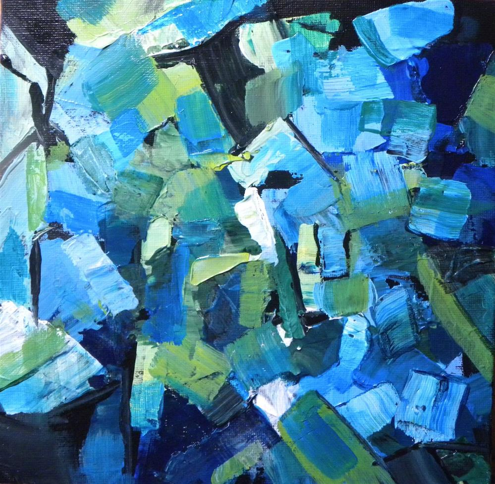 """Blue mood"" original fine art by cheryl buhrman"