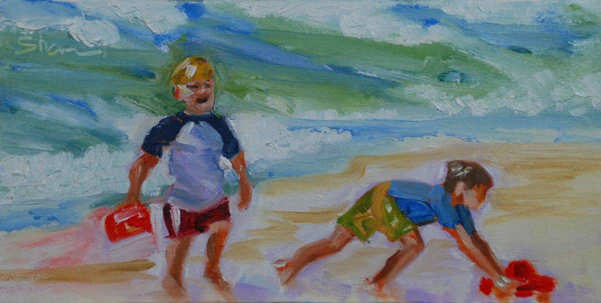 """It's My Turn"" original fine art by Shawn Deitch"