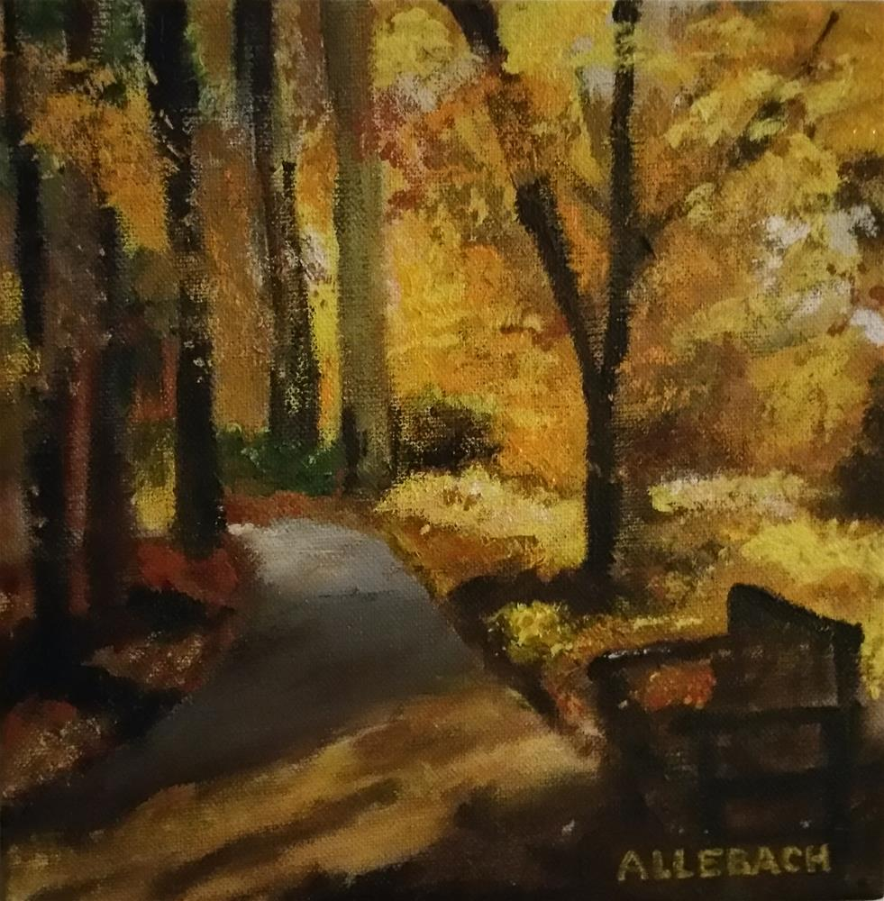 """Resting Place"" original fine art by Jo Allebach"