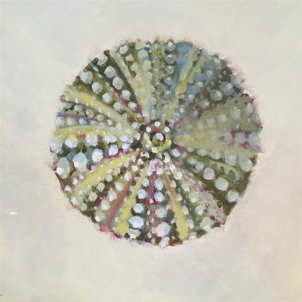"""Sea Urchin"" original fine art by Tricia Granzier"