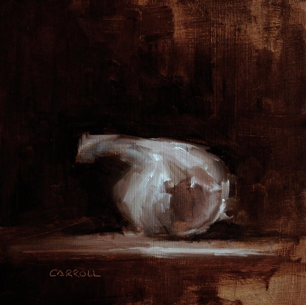 """Garlic"" original fine art by Neil Carroll"