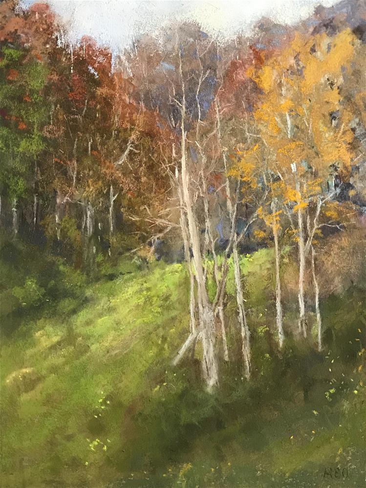 """into the woods"" original fine art by Betty Argiros"