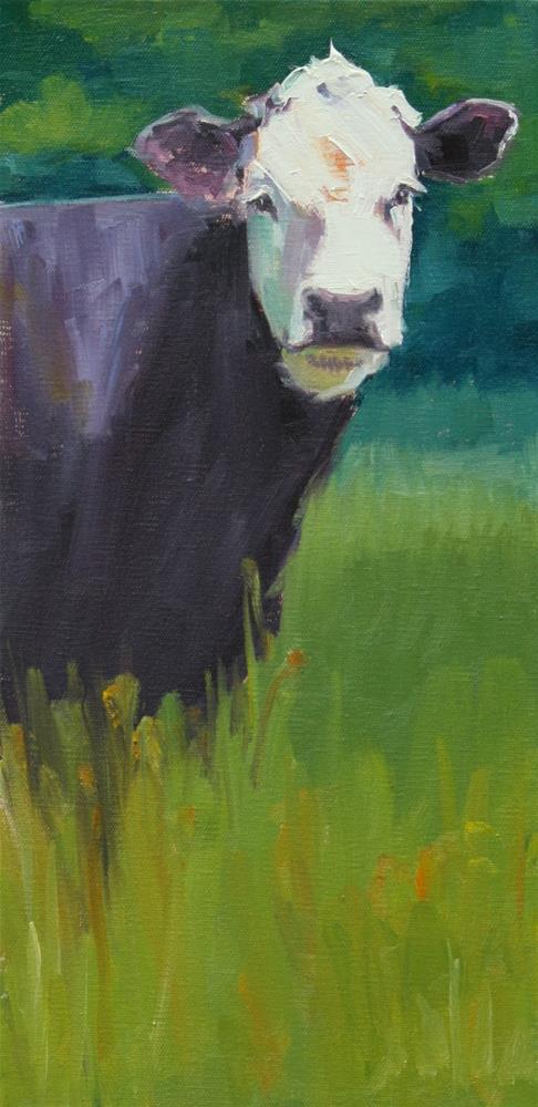 """deep woods"" original fine art by Carol Carmichael"
