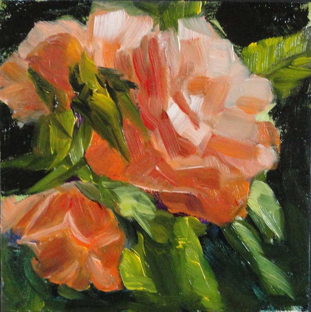 """""""Bright Blooms"""" original fine art by Cietha Wilson"""